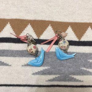 Jewelry - 🕊 Cute vintage bird earrings